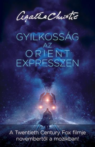 Könyv borító - Gyilkosság az Orient expresszen