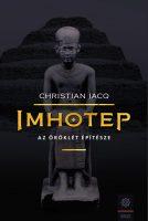 Könyv borító - Imhotep – Az örökkévalóság építésze