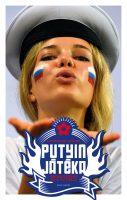 Könyv borító - Putyin játéka – Oroszország és a futball
