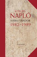 Könyv borító - A teljes napló 1982-1989 díszkiadás