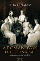 Könyv borító - A Romanovok utolsó napjai