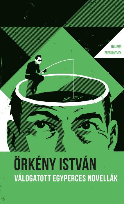Könyv borító - Válogatott egyperces novellák – Helikon zsebkönyvek 80.